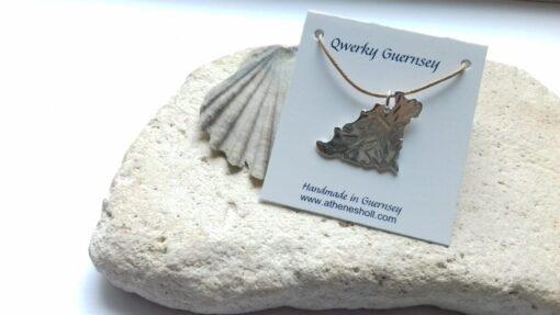 Guernsey Silver Pendant