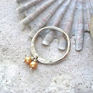 Bronze Pearl Pendant