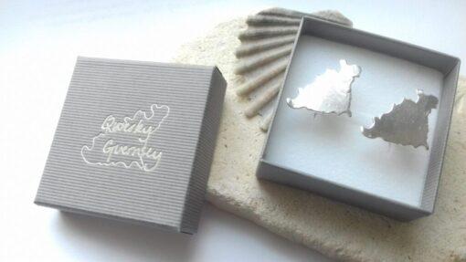 Silver Guernsey Cufflinks
