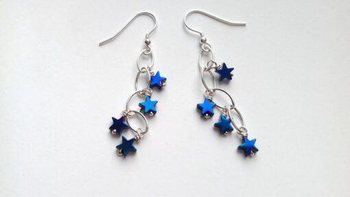 blue hematite star waterfalls