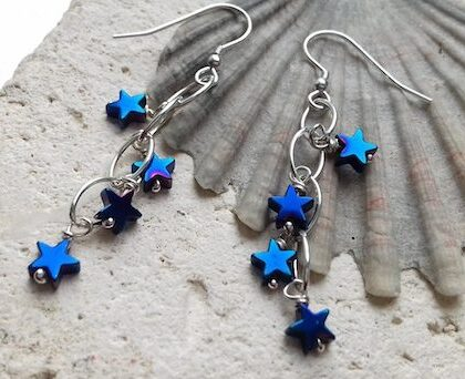 blue hematite star waterfalls