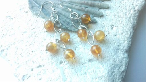 Citrine Waterfall Earrings