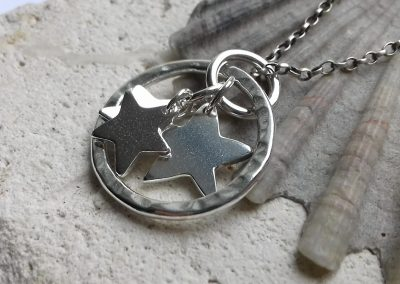Circle and Star Pendant