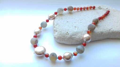 Orange Rainbow Colour Theory Necklace