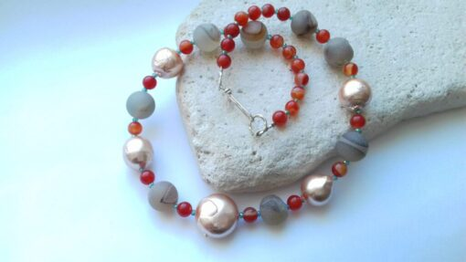 Orange Rainbow Colour Theory Necklace