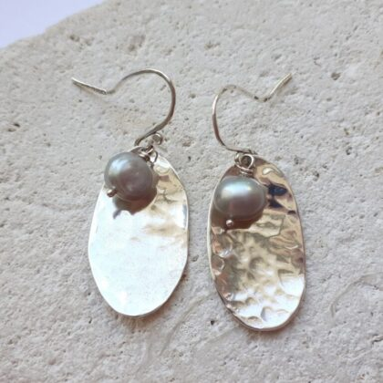 Potato Peel Dangle Earrings