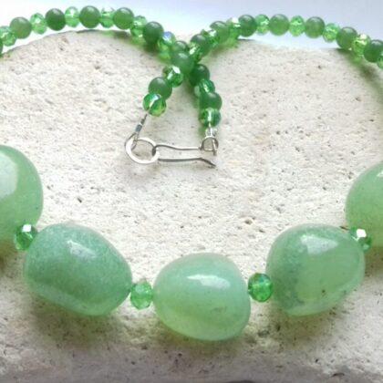 Greenery Chalcedony Necklace