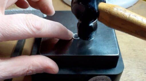 Silver Circle Making Process